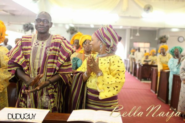 Tosin Alakija & Dotun Akinbode White Wedding 1 - March 2013 - BellaNaija089