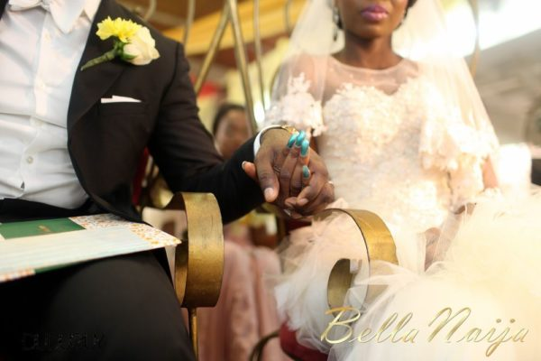 Tosin Alakija & Dotun Akinbode White Wedding 1 - March 2013 - BellaNaija090