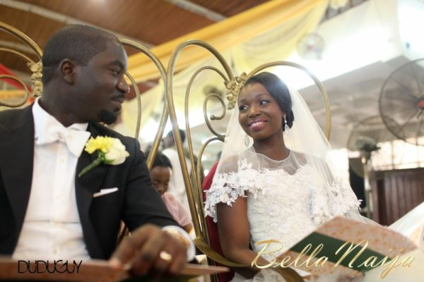 Tosin Alakija & Dotun Akinbode White Wedding 1 - March 2013 - BellaNaija091