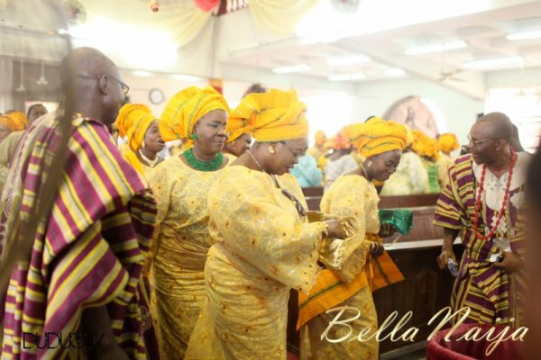 Tosin Alakija & Dotun Akinbode White Wedding 1 - March 2013 - BellaNaija108
