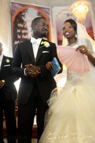 Tosin Alakija & Dotun Akinbode White Wedding 1 - March 2013 - BellaNaija119