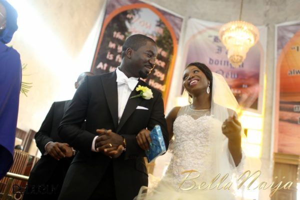 Tosin Alakija & Dotun Akinbode White Wedding 1 - March 2013 - BellaNaija120