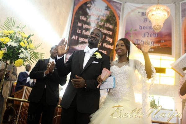 Tosin Alakija & Dotun Akinbode White Wedding 1 - March 2013 - BellaNaija121