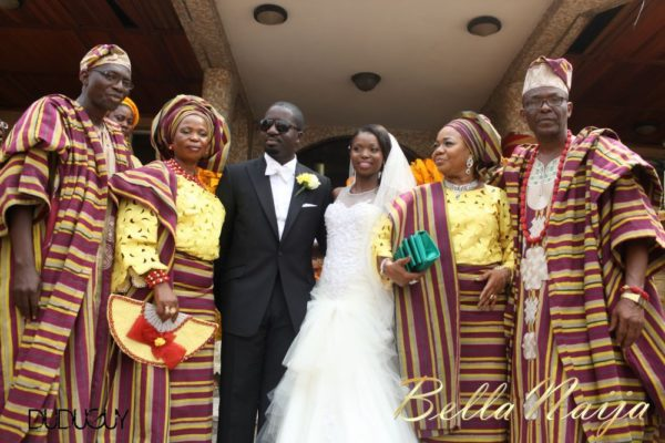 Tosin Alakija & Dotun Akinbode White Wedding 1 - March 2013 - BellaNaija130