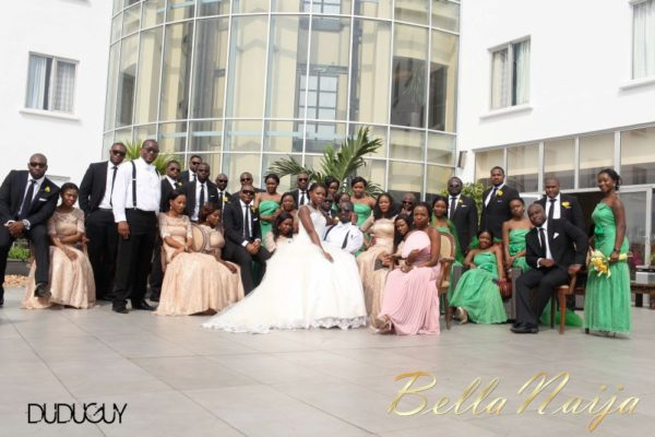 Tosin Alakija & Dotun Akinbode White Wedding 1 - March 2013 - BellaNaija173