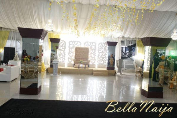 Tosin Alakija & Dotun Akinbode White Wedding 1 - March 2013 - BellaNaija180