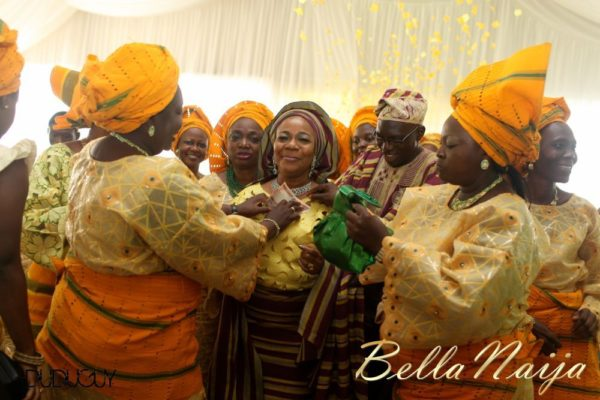 Tosin Alakija & Dotun Akinbode White Wedding 1 - March 2013 - BellaNaija183