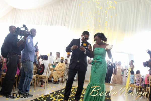 Tosin Alakija & Dotun Akinbode White Wedding 1 - March 2013 - BellaNaija187