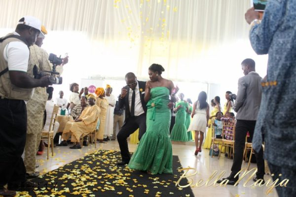 Tosin Alakija & Dotun Akinbode White Wedding 1 - March 2013 - BellaNaija194