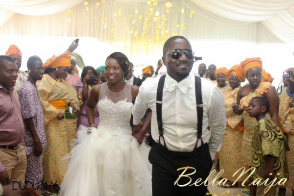 Tosin Alakija & Dotun Akinbode White Wedding 1 - March 2013 - BellaNaija202