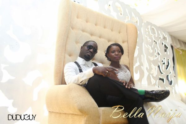 Tosin Alakija & Dotun Akinbode White Wedding 1 - March 2013 - BellaNaija217