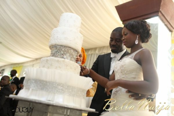 Tosin Alakija & Dotun Akinbode White Wedding 1 - March 2013 - BellaNaija233