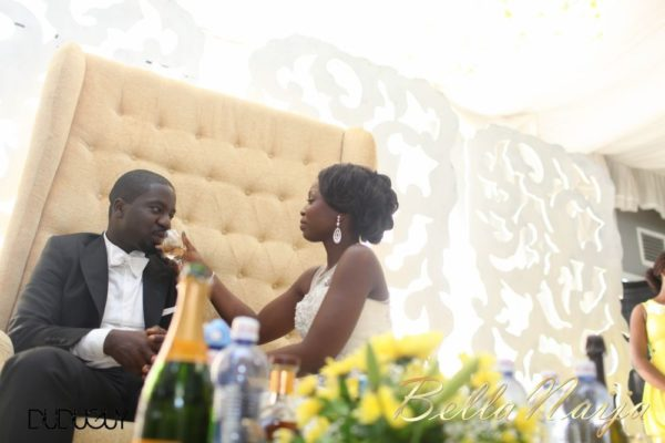 Tosin Alakija & Dotun Akinbode White Wedding 1 - March 2013 - BellaNaija235