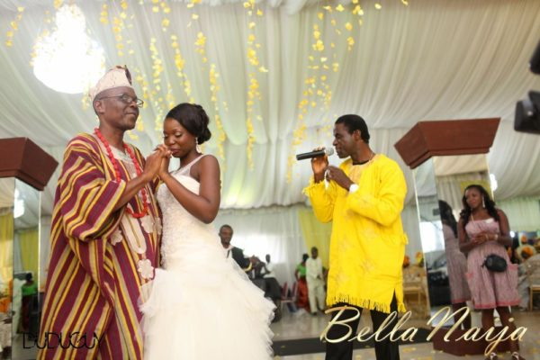 Tosin Alakija & Dotun Akinbode White Wedding 1 - March 2013 - BellaNaija246