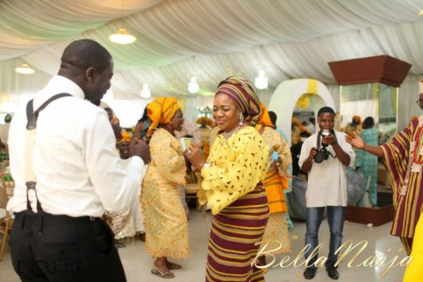 Tosin Alakija & Dotun Akinbode White Wedding 1 - March 2013 - BellaNaija250