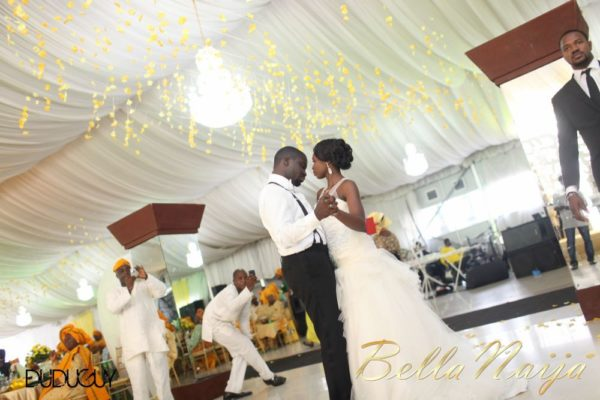 Tosin Alakija & Dotun Akinbode White Wedding 1 - March 2013 - BellaNaija257