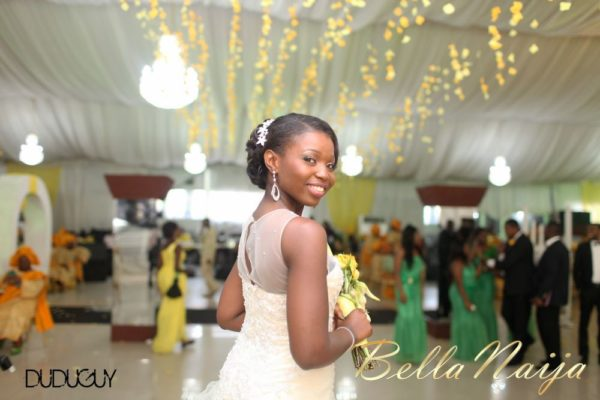 Tosin Alakija & Dotun Akinbode White Wedding 1 - March 2013 - BellaNaija265