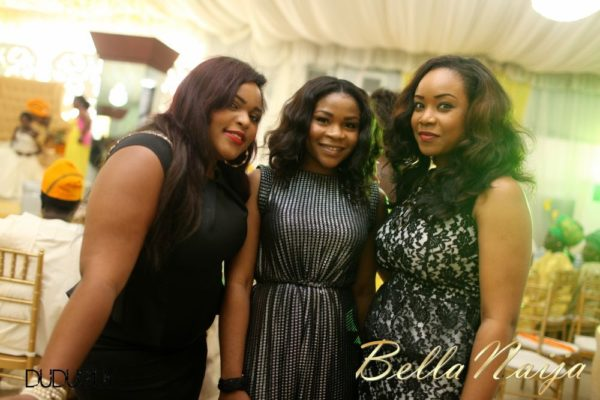 Tosin Alakija & Dotun Akinbode White Wedding 1 - March 2013 - BellaNaija296