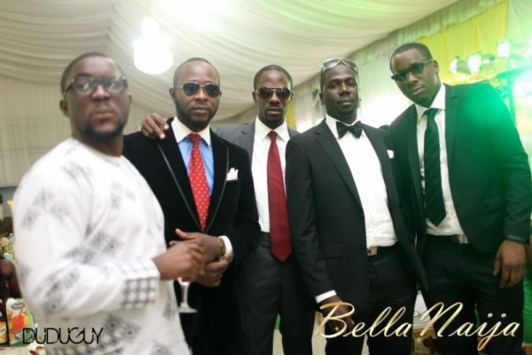 Tosin Alakija & Dotun Akinbode White Wedding 1 - March 2013 - BellaNaija300