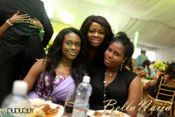 Tosin Alakija & Dotun Akinbode White Wedding 1 - March 2013 - BellaNaija305