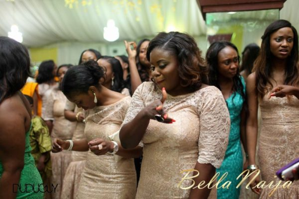 Tosin Alakija & Dotun Akinbode White Wedding 1 - March 2013 - BellaNaija320