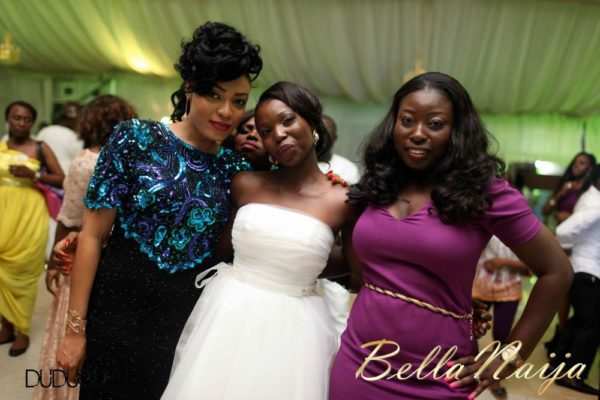 Tosin Alakija & Dotun Akinbode White Wedding 1 - March 2013 - BellaNaija400