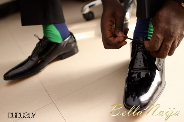 Tosin Alakija & Dotun Akinbode White Wedding 1 - March 2013 - BellaNaija450