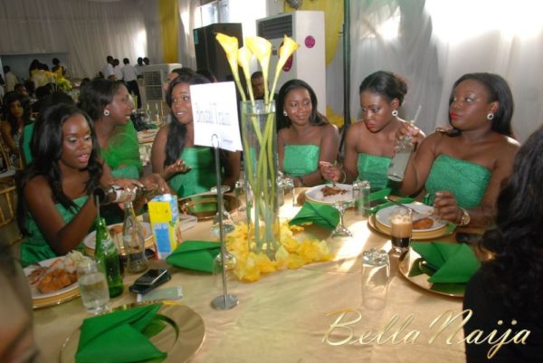 Tosin Alakija & Dotun Akinbode White Wedding 2 - March 2013 - BellaNaija003