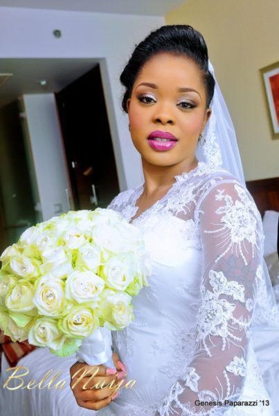Tosin Obasa Bolade Kehinde White Wedding - March 2013 - BellaNaija025