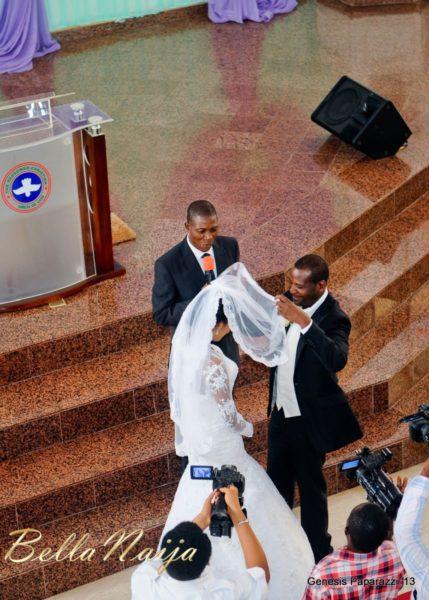 Tosin Obasa Bolade Kehinde White Wedding - March 2013 - BellaNaija037