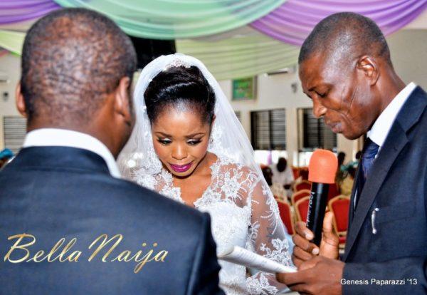 Tosin Obasa Bolade Kehinde White Wedding - March 2013 - BellaNaija041
