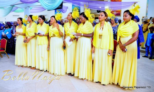 Tosin Obasa Bolade Kehinde White Wedding - March 2013 - BellaNaija050