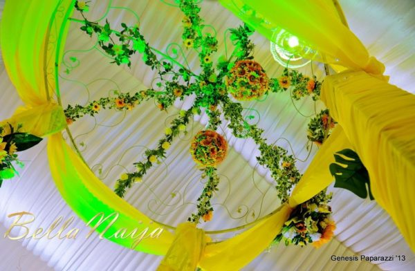 Tosin Obasa Bolade Kehinde White Wedding - March 2013 - BellaNaija080