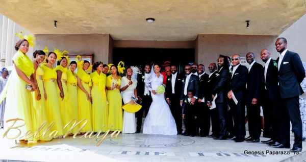 Tosin Obasa Bolade Kehinde White Wedding - March 2013 - BellaNaija082