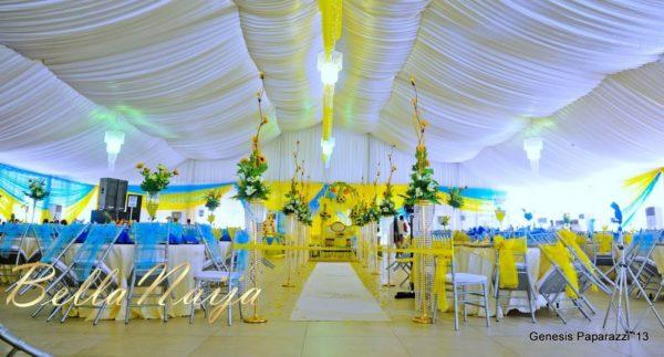Tosin Obasa Bolade Kehinde White Wedding - March 2013 - BellaNaija090