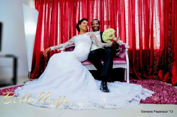 Tosin Obasa Bolade Kehinde White Wedding - March 2013 - BellaNaija102