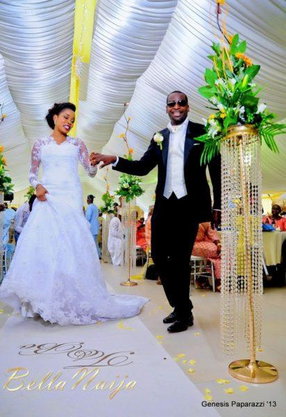 Tosin Obasa Bolade Kehinde White Wedding - March 2013 - BellaNaija108