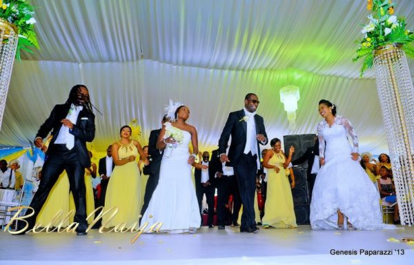Tosin Obasa Bolade Kehinde White Wedding - March 2013 - BellaNaija109