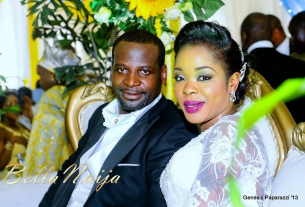 Tosin Obasa Bolade Kehinde White Wedding - March 2013 - BellaNaija111