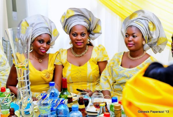 Tosin Obasa Bolade Kehinde White Wedding - March 2013 - BellaNaija118