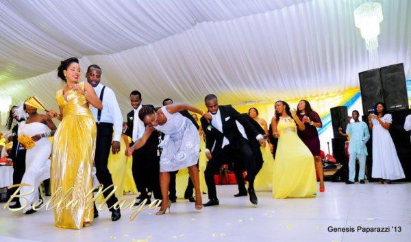 Tosin Obasa Bolade Kehinde White Wedding - March 2013 - BellaNaija131