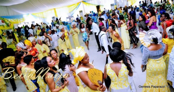 Tosin Obasa Bolade Kehinde White Wedding - March 2013 - BellaNaija140