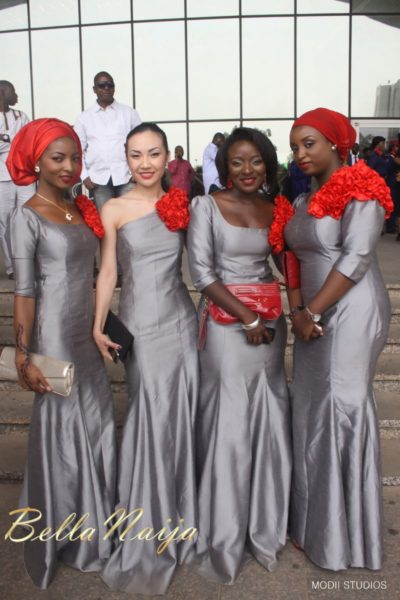 Ameena Rasheed & Hakeem Shagaya - Wedding Reception - Abuja - April 2013 - BellaNaija Weddings034