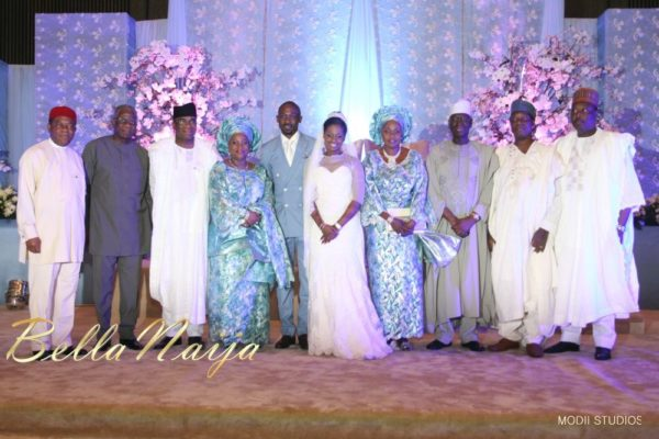 Ameena Rasheed & Hakeem Shagaya - Wedding Reception - Abuja - April 2013 - BellaNaija Weddings056