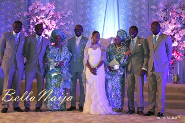 Ameena Rasheed & Hakeem Shagaya - Wedding Reception - Abuja - April 2013 - BellaNaija Weddings057