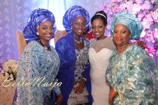 Ameena Rasheed & Hakeem Shagaya - Wedding Reception - Abuja - April 2013 - BellaNaija Weddings069