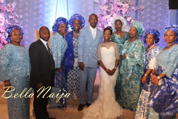 Ameena Rasheed & Hakeem Shagaya - Wedding Reception - Abuja - April 2013 - BellaNaija Weddings070