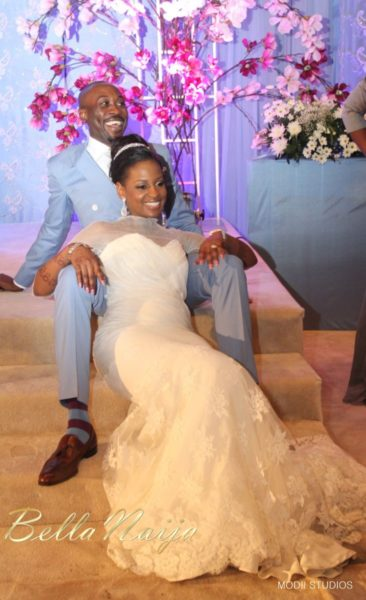 Ameena Rasheed & Hakeem Shagaya - Wedding Reception - Abuja - April 2013 - BellaNaija Weddings072