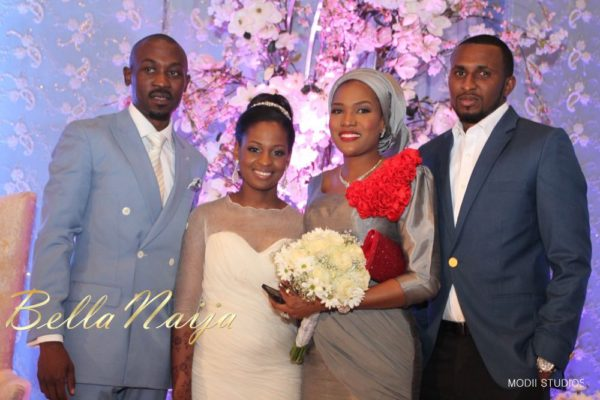 Ameena Rasheed & Hakeem Shagaya - Wedding Reception - Abuja - April 2013 - BellaNaija Weddings073