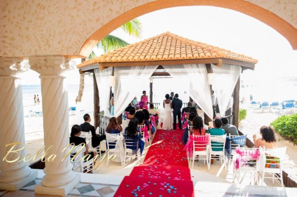 Bukky Tobi Wedding Mexico - White Wedding & Reception - April 2013 - BellaNaija Weddings055
